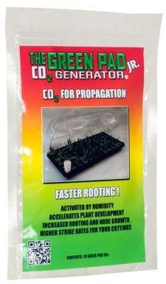 Green Pad Jr. CO2 Generator, 10 pads