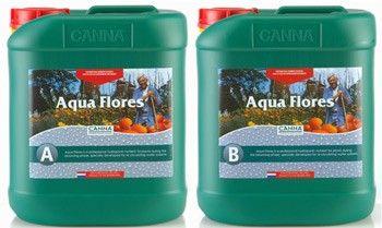 Canna Aqua Flores A/B 5 Liter Set